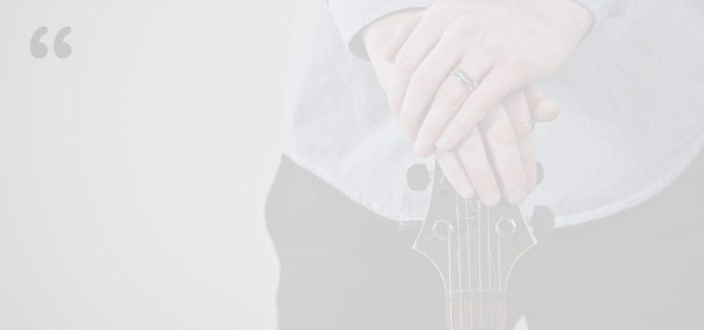 Guitar lesson testimonial image